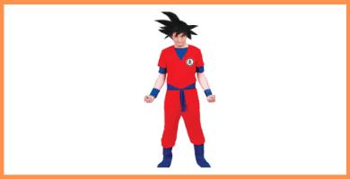 Disfraces de Son Goku Funidelia