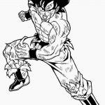 Son Goku luchando