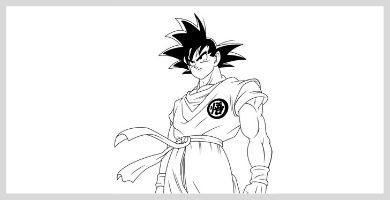 ᐈ Colorea Dragon Ball Dibujos Degoku Net