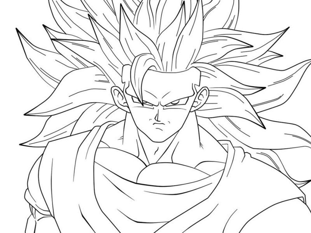 Goku Niño Para Colorear: ᐈ【 COLOREA A GOKU 】- Dibujos Para Pintar ⭐