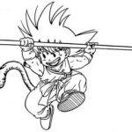Goku bastón mágico