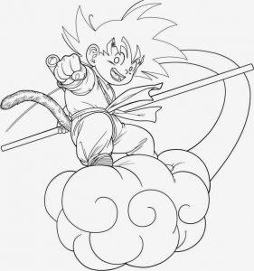Colorea Dragon Ball Dibujos Para Pintar Degokunet