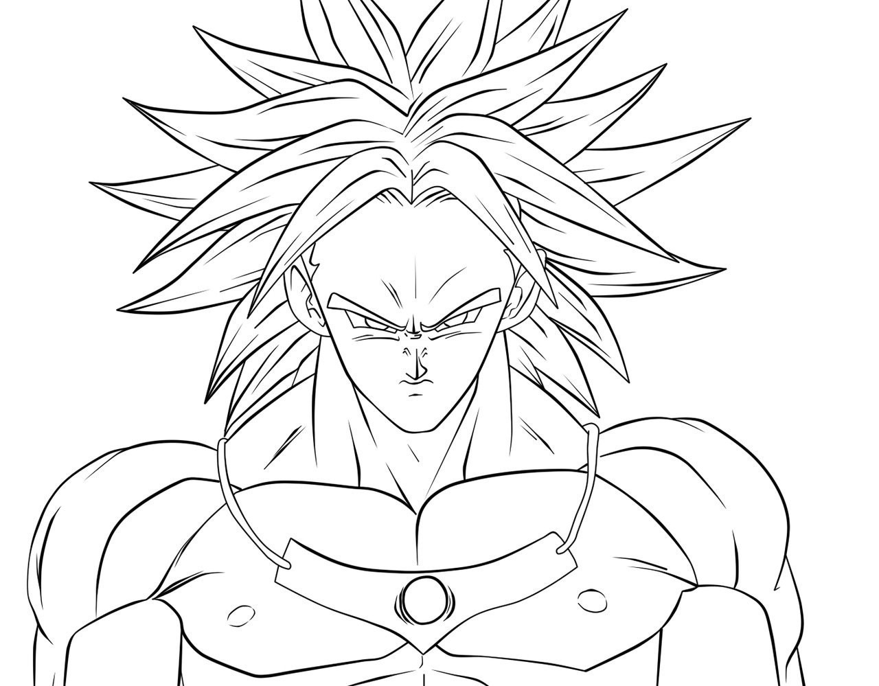COLOREA DRAGON BALL 】- Dibujos Para Pintar
