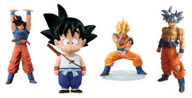 Figuras de Goku
