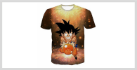 Camiseta son goku kid
