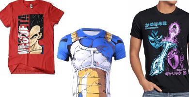 Camisetas de Vegeta