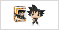 Funko Pop de Black Goku hair