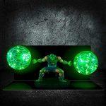Lámpara LED 3D de Piccolo con bolas de ki gigantes