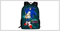 Mochilas Sonic Amazon AliExpress Ebay Mercadolibre Visto en Pantalla Kurogami Redbubble