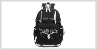 Mochilas Death Note Amazon AliExpress Ebay Mercadolibre Visto en Pantalla Kurogami Redbubble