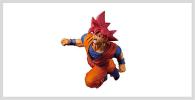 Figurine Goku God Red Rojo Dios